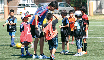 多彩な外部実習先でコーチとしての経験を高める!