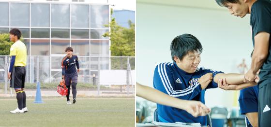 第一線で活躍するJリーグクラブのサッカートレーナーから学ぶ