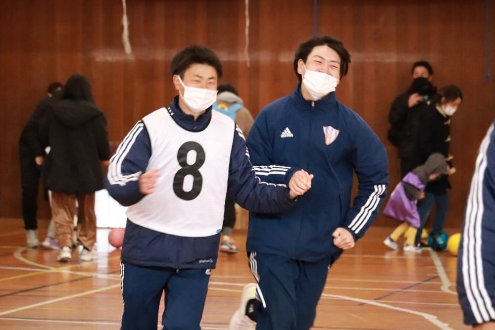 春のスポーツ体験フェスタ2021に参加しました!!