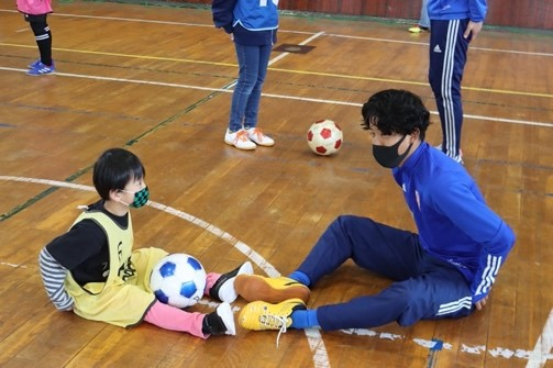 サッカー教室01