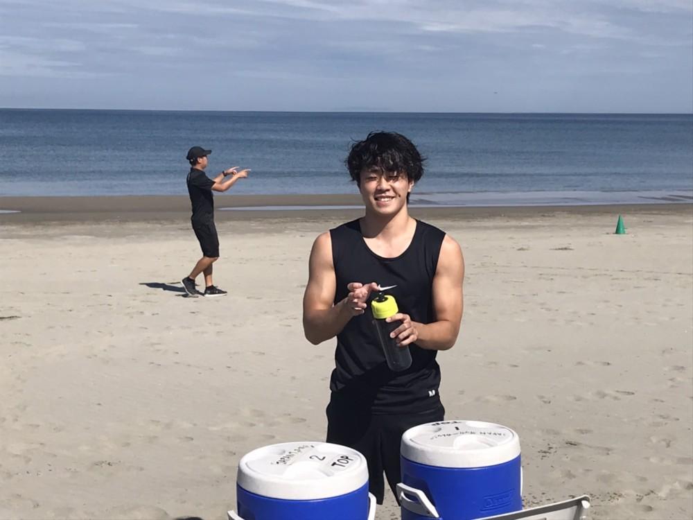 JAPAN.S.C 砂浜トレーニング🏖