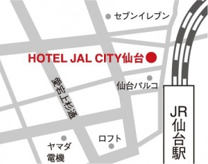HOTEL JAL CITY仙台